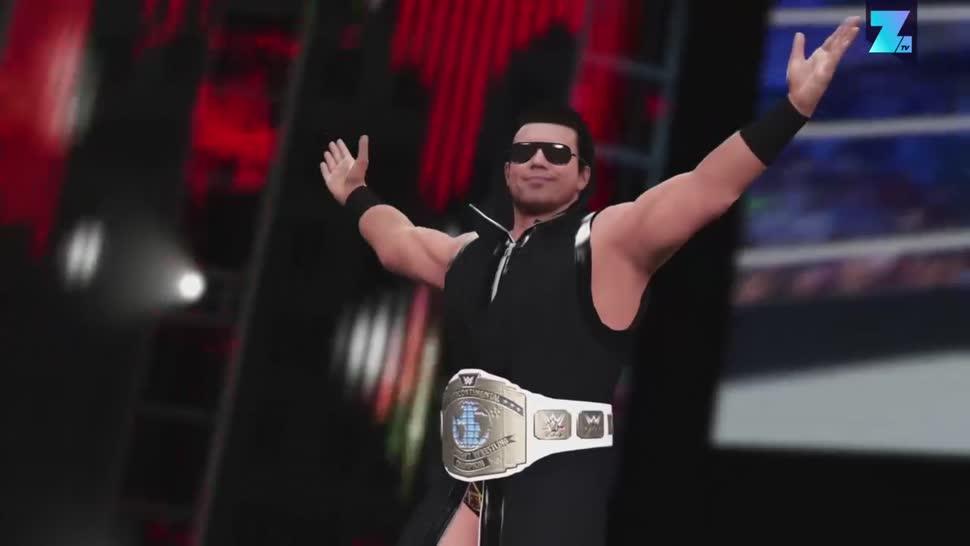 Zoomin, 2K Games, 2k, Wrestling, WWE, WWE 2K17