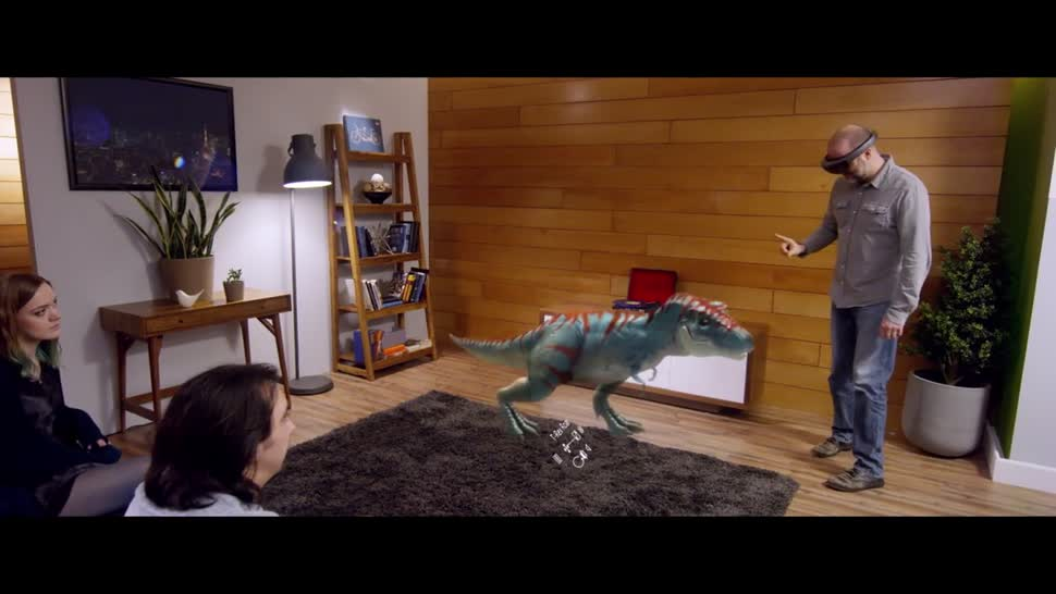 Microsoft, Augmented Reality, Augmented-Reality, HoloLens, Datenbrille, Microsoft HoloLens, Windows Holographic, Windows 10 Holographic, Hologramm