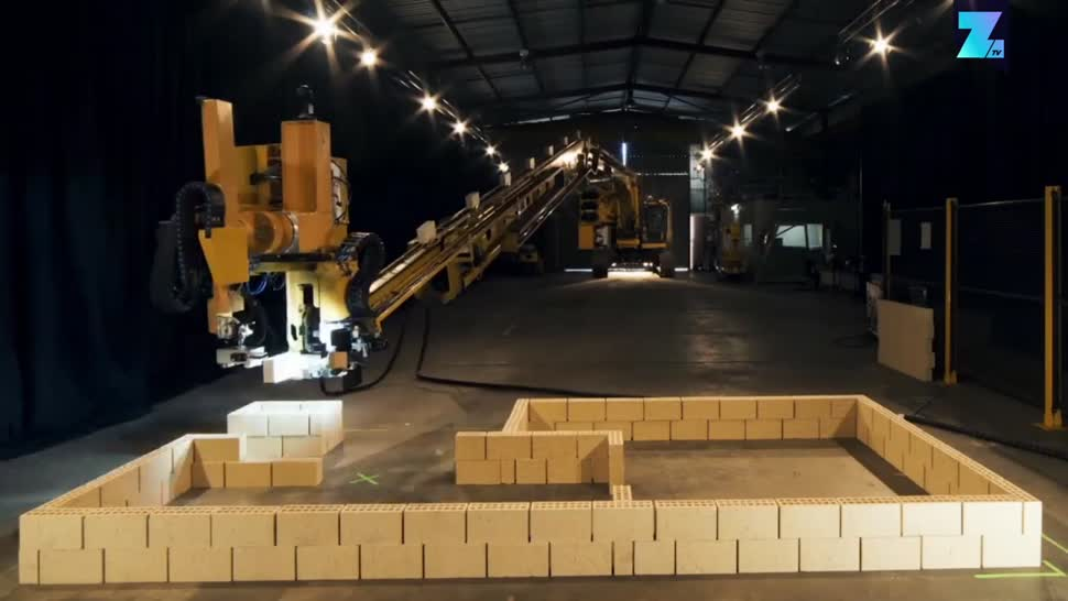 Zoomin, Roboter, Gebäude, Häuser, Hadrian X, Fastbrick Robotics