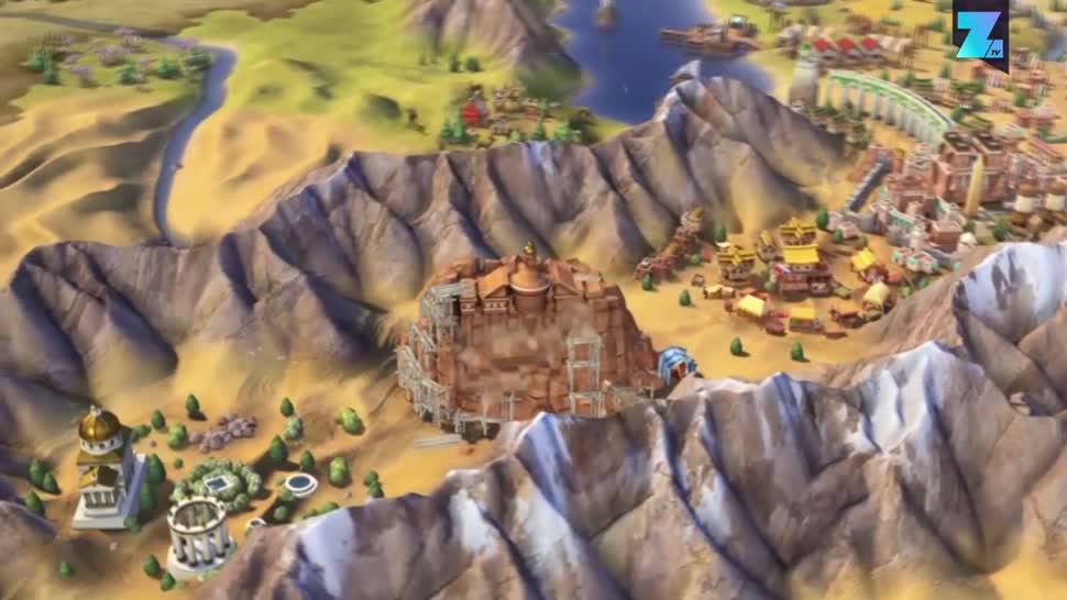 Zoomin, 2K Games, Strategiespiel, Civilization, Civilization VI, Civilization 6