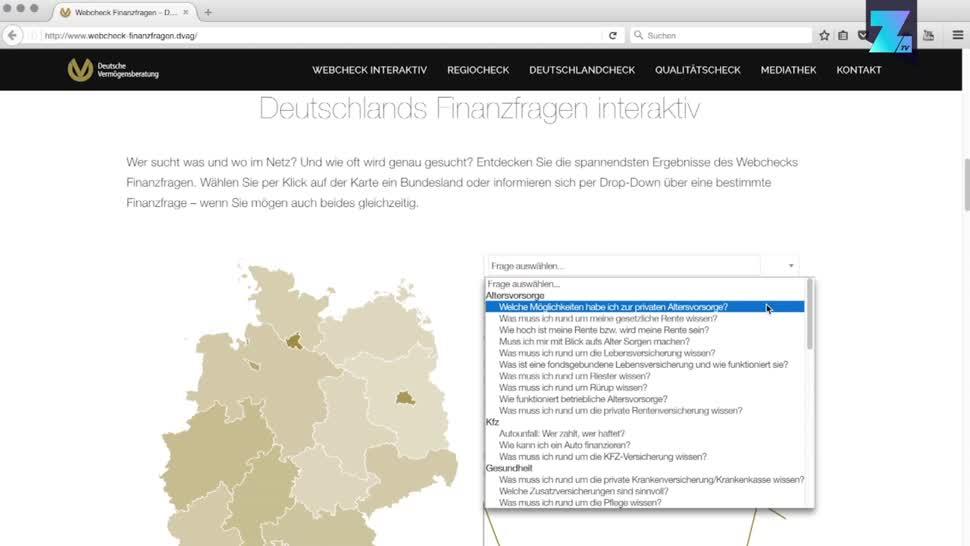 Google, Zoomin, Online, Geld, Finanzen, Beratung, Universität Regensburg, ibi research