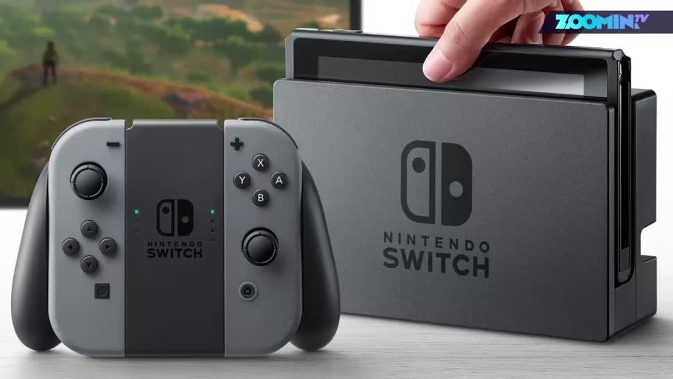 Nintendo, Nintendo Switch, Zoomin, Nintendo Konsole