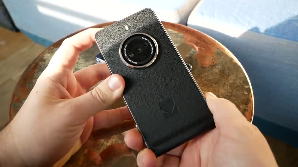 Smartphone, Android, Hands-On, Daniil Matzkuhn, tblt, Kodak, Kodak Ektra, Ektra