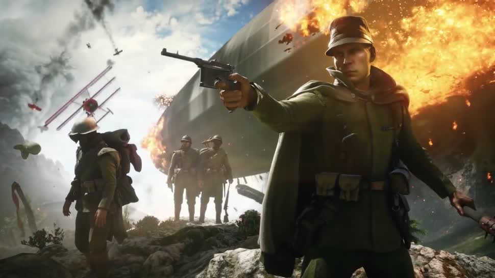 Trailer, Electronic Arts, Ego-Shooter, Ea, Battlefield, Dice, Battlefield 1