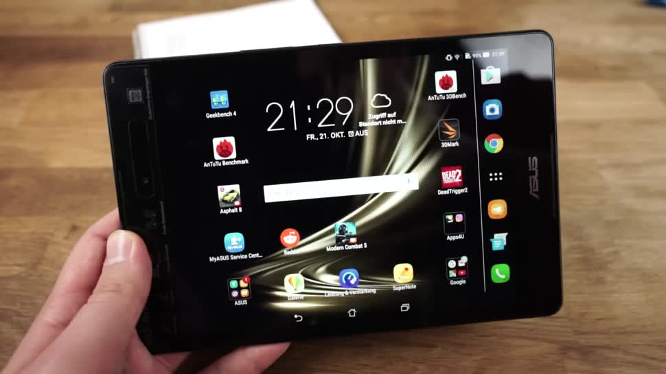 Android, Tablet, Test, Asus, Andrzej Tokarski, Tabletblog, ZenPad 3 8.0, Asus ZenPad 3 8.0