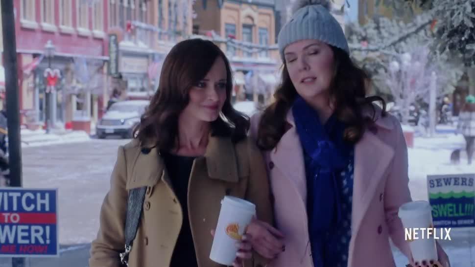 Trailer, Netflix, Serie, Gilmore Girls