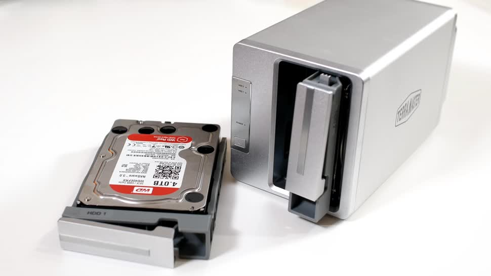 Speicher, Festplatte, ValueTech, RAID, TerraMaster