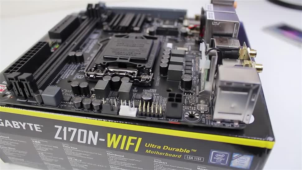 Test, Gigabyte, Zenchilli, Zenchillis Hardware Reviews, Mainboard, Mini Itx, GIGABYTE Z170N WIFI, Z170N WIFI, GA-Z170N Wifi