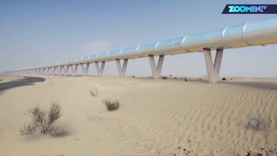 Zoomin, Verkehr, Reisen, Hyperloop, Dubai, Hyperloop One