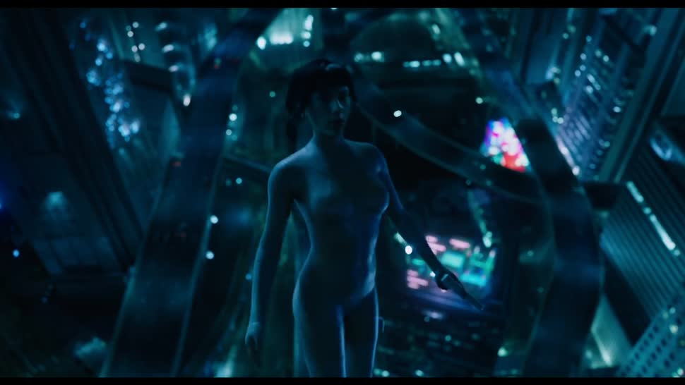 Trailer, Film, Ghost in the Shell, Scarlett Johansson