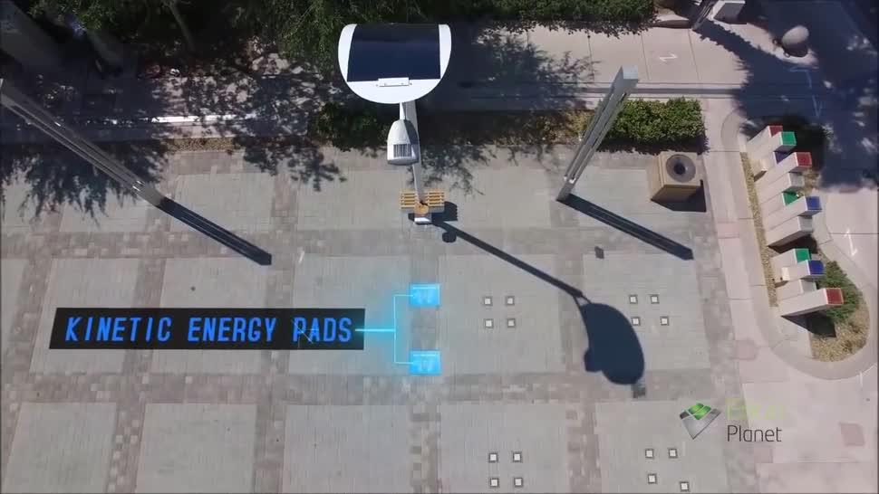 Akku, Energie, Strom, Solar, Las Vegas, Straßenlaterne, Engoplanet