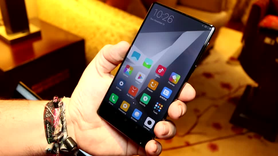 Smartphone, Android, Hands-On, Hands on, Phablet, Review, Xiaomi Mi Mix, Mi Mix, Keramik