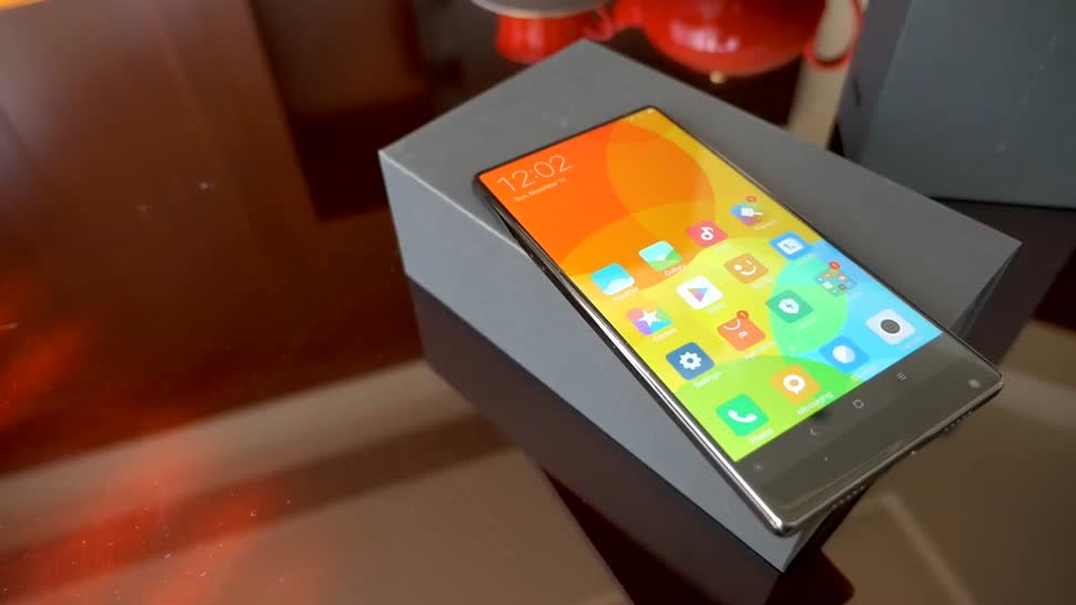 Smartphone, Android, Test, Hands-On, Daniil Matzkuhn, tblt, Xiaomi Mi Mix