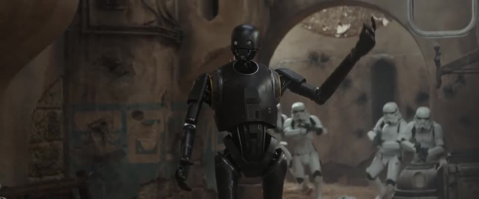 Trailer, Star Wars, Kinofilm, Disney, Rogue One, A Star Wars Story, Rogue One: A Star Wars Story