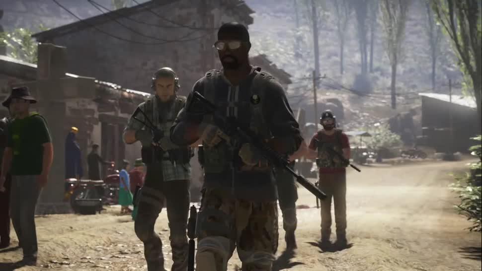 Trailer, Ubisoft, actionspiel, Tom Clancy, Ghost Recon, Wildlands