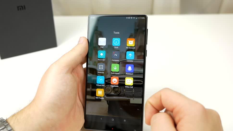 Smartphone, Android, Test, Xiaomi, Daniil Matzkuhn, tblt, Xiaomi Mi Mix, Mi Mix