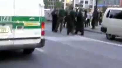 Polizei, Demo, Freiheit Statt Angst, Auseinandersetzung, Rangelei