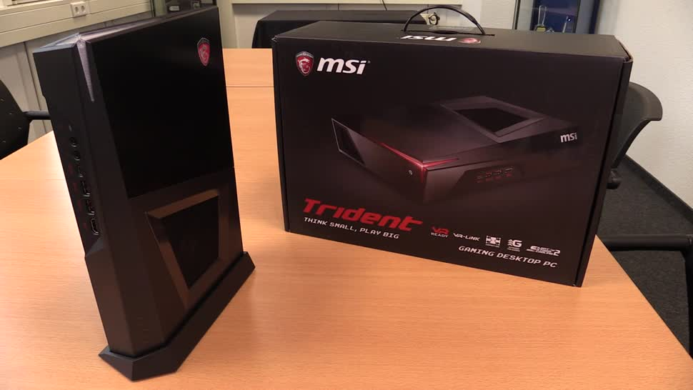 Hands-On, Virtual Reality, VR, Hands on, NewGadgets, Johannes Knapp, Msi, gaming-pc, Trident, MSI Trident