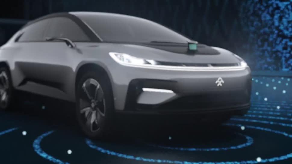 Ces, Elektroautos, CES 2017, Faraday Future, Reichweite