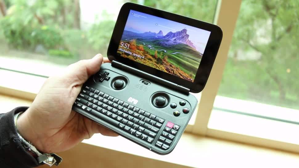 Hands-On, Ces, Hands on, CES 2017, GPD WIN