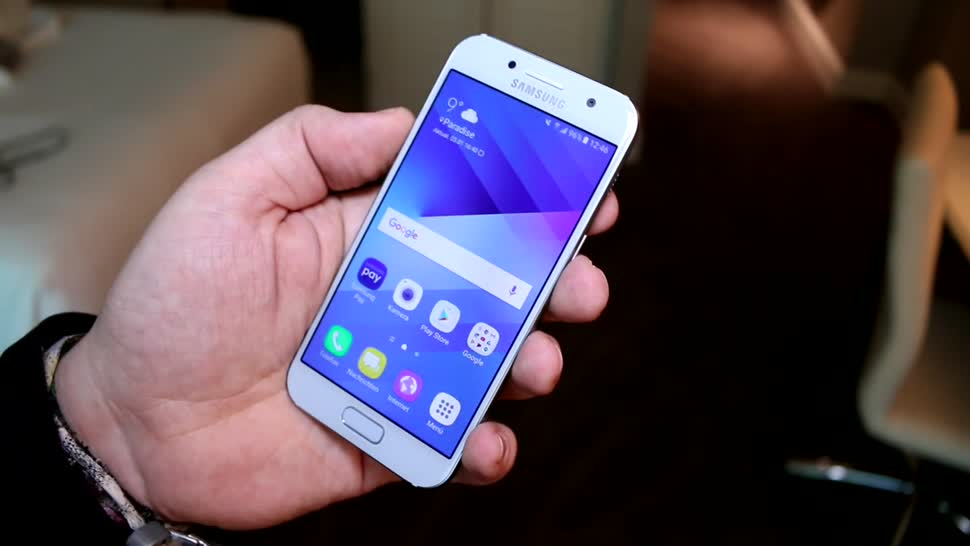 Smartphone, Android, Samsung, Ces, CES 2017, Galaxy A3