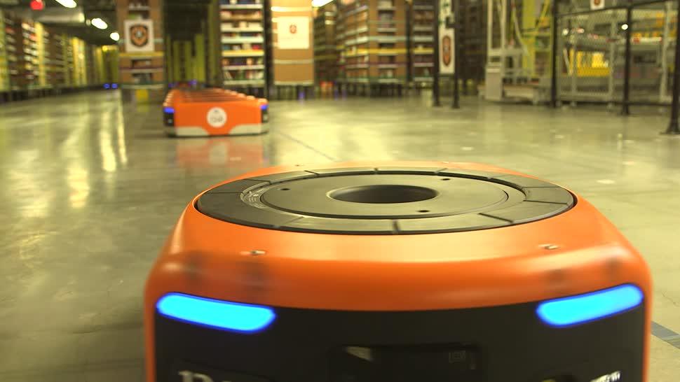 Amazon, Roboter, Robotik, Automatisierung, Lagerhaus