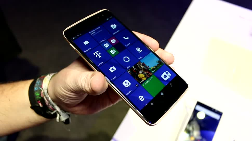 Smartphone, Windows 10, Windows 10 Mobile, Ces, CES 2017, Alcatel, TCL