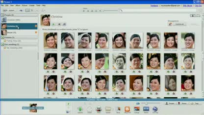 Google, Picasa, Bilderverwaltung