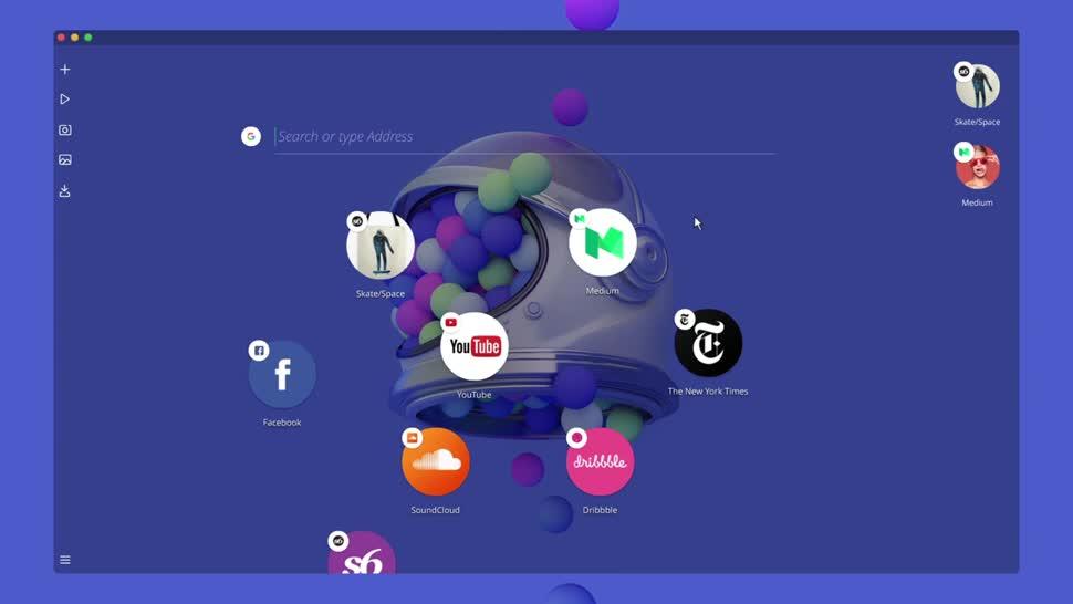 Browser, Webbrowser, Opera, Opera Neon
