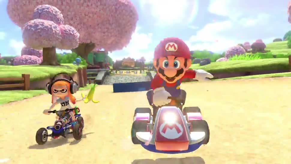Trailer, Nintendo, Nintendo Switch, Rennspiel, Mario Kart, Mario Kart 8, Mario Kart 8 Deluxe