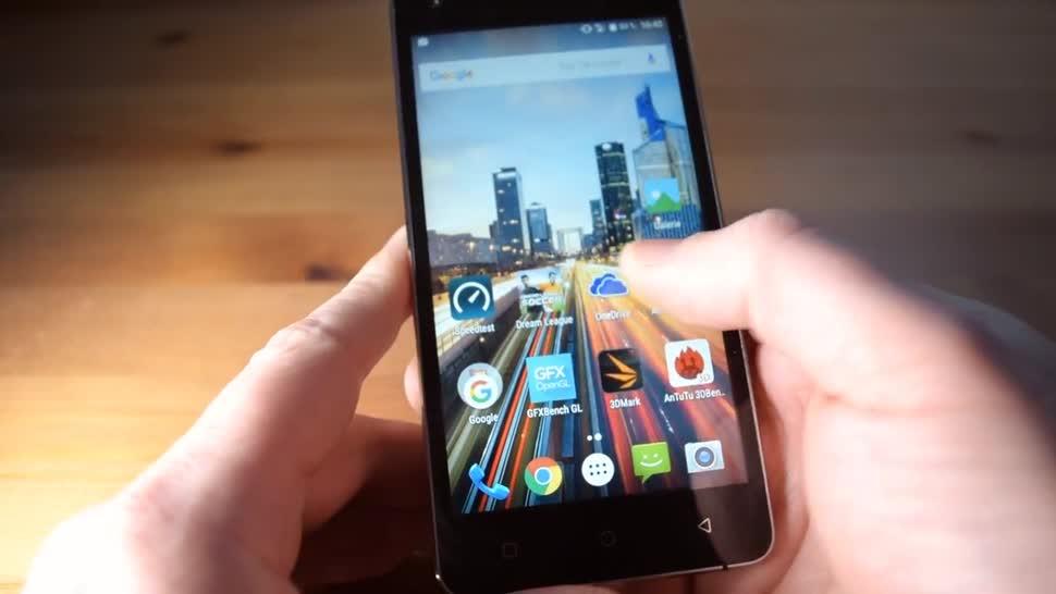 Smartphone, Android, ValueTech, Archos, 50f Helium Lite