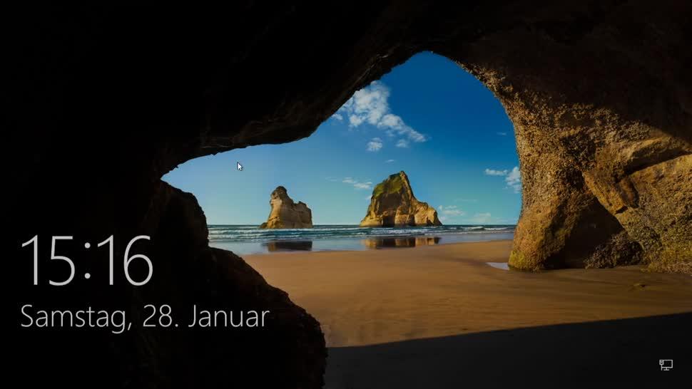 Windows, Windows 10, Sicherheit, SemperVideo, Login, USB-Stick, Token, Syskey
