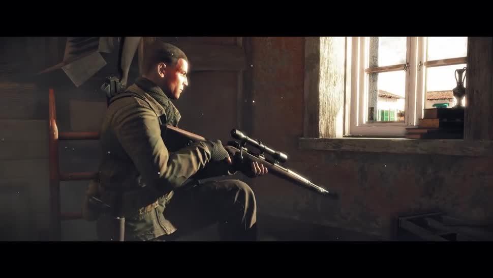 Trailer, Shooter, Rebellion, Sniper Elite, Sniper Elite 4