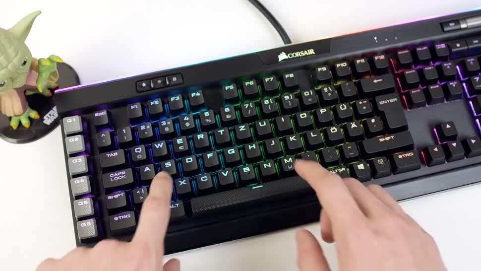 Hoch 3 Tastatur