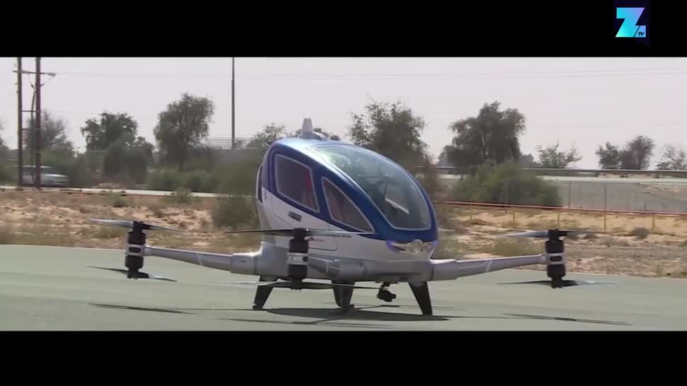 Zoomin, Taxi, Verkehr, Dubai, Flugverkehr, Ehang
