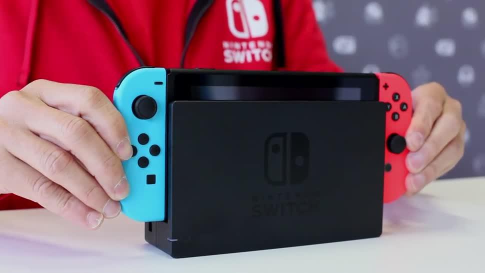 Konsole, Nintendo, Nintendo Switch, Nintendo Konsole, Handheld, Joy-Con, Satoru Shibata