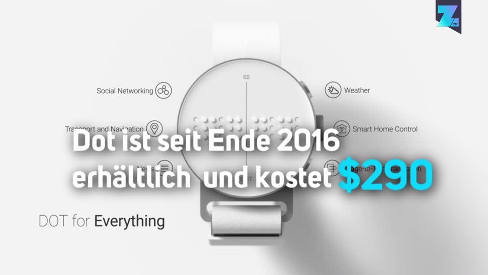 smartwatch, Zoomin, Wearables, Wearable, Sehbehinderte, Blinde, Dot