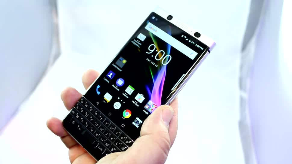 Smartphone, Test, Hands-On, Octacore, Mwc, Hands on, Blackberry, Mobile World Congress, Review, MWC 2017, BlackBerry KEYone