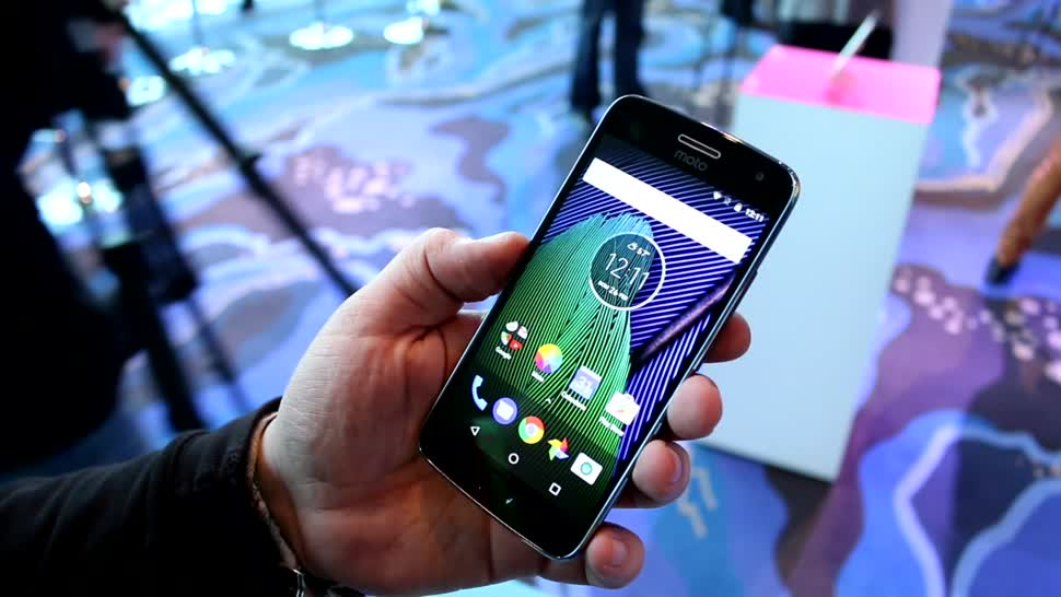 Smartphone, Android, Hands-On, Mwc, Motorola, Hands on, Mobile World Congress, Roland Quandt, MWC 2017, Moto G, Moto G5 Plus, Motorola Moto G5 Plus
