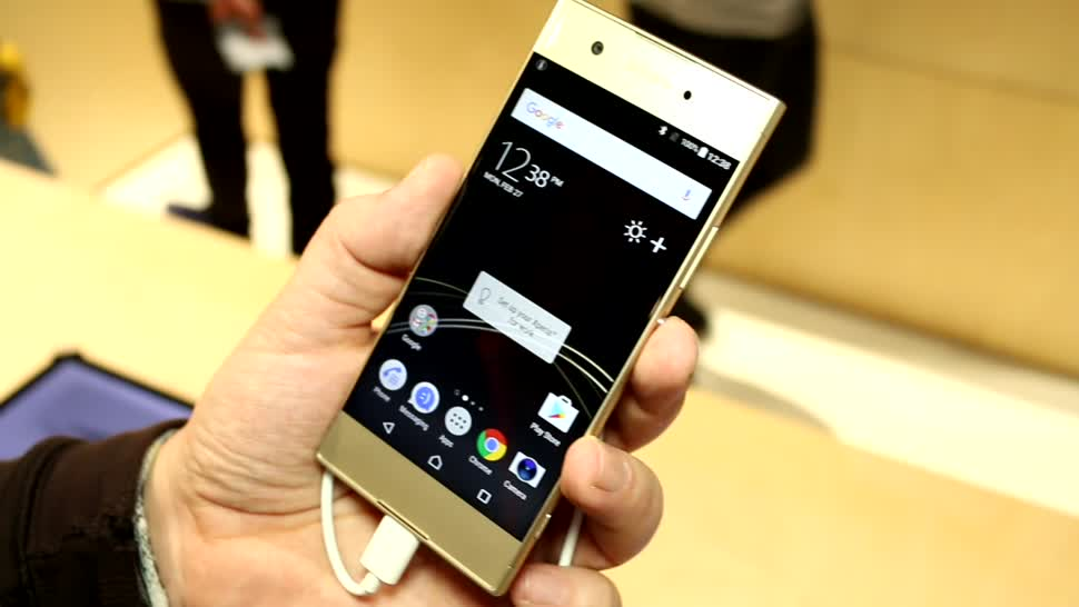 Smartphone, Android, Sony, Mwc, MWC 2017, Xperia XA1