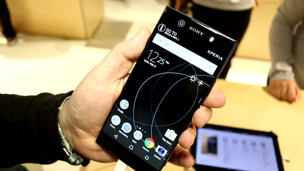 Smartphone, Android, Sony, Mwc, MWC 2017, Xperia XA1 Ultra