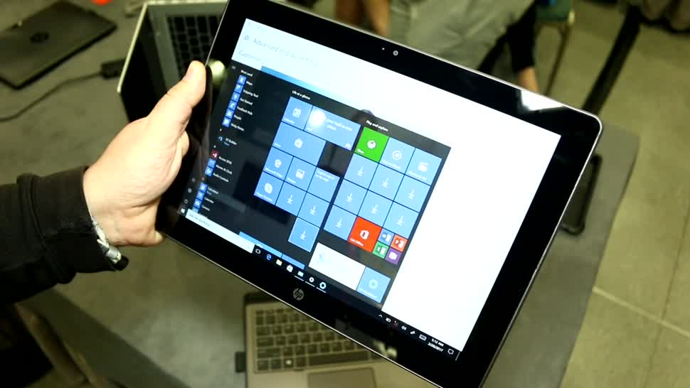 Tablet, Hp, Hands-On, Mwc, Hands on, 2-in-1, MWC 2017, 2-in-1-Tablet, HP Pro x2, HP Pro