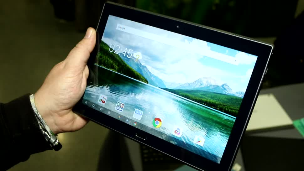 Android, Tablet, Lenovo, Hands-On, Mwc, Hands on, MWC 2017, Lenovo Tab, Lenovo Tab 4, Lenovo Tab 4 10 Plus, Lenovo Tab 4 10