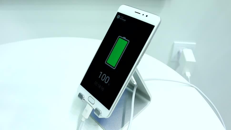 Smartphone, Akku, Mwc, MWC 2017, Meizu, Schnellladegerät, Super mCharge