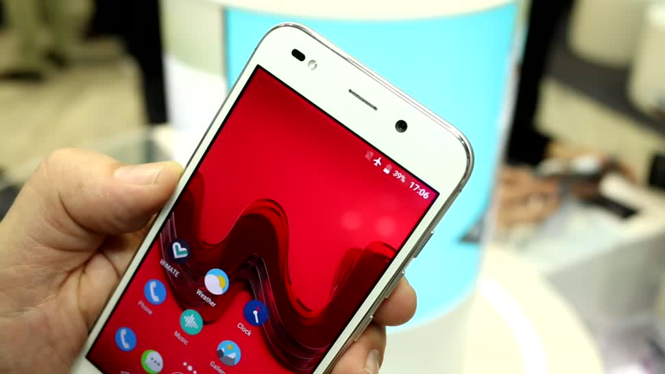 Smartphone, Android, Mwc, MWC 2017, Wiko, Wim Light