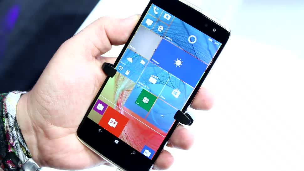 Smartphone, Android, Mwc, MWC 2017, Alcatel, Idol 4S, Idol 4 Pro