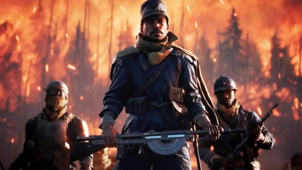 Trailer, Electronic Arts, Ego-Shooter, Ea, Dlc, Battlefield, Dice, Battlefield 1, They Shall Not Pass