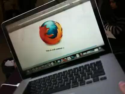 Browser, Firefox, Bewegungssensoren