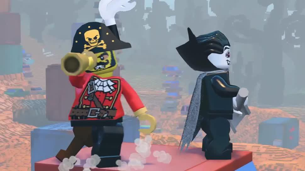Trailer, Warner Bros., Lego, Sandbox, Lego Worlds